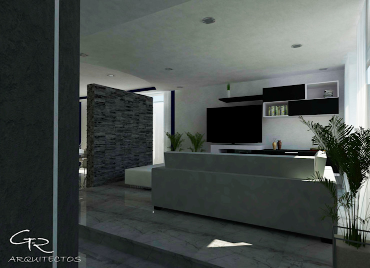 Modern living room by GT-R Arquitectos Modern