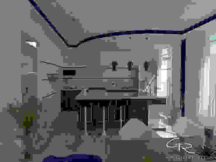 Cucina moderna di GT-R Arquitectos Moderno