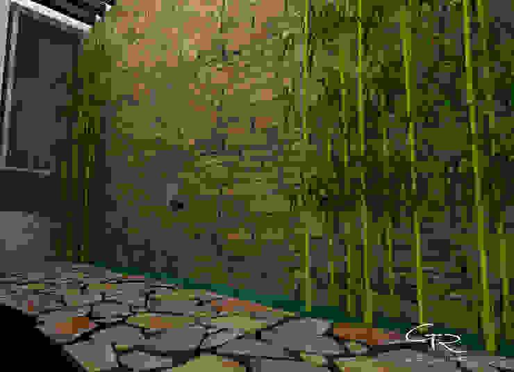 Garden by GT-R Arquitectos , Modern