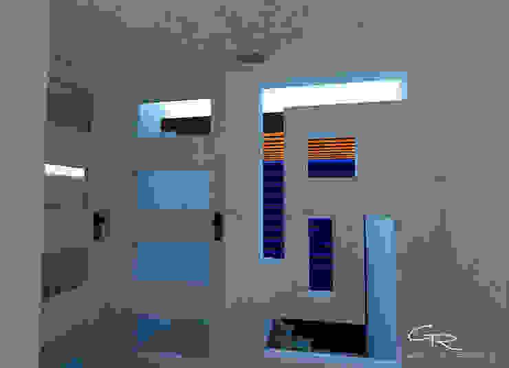 Ingresso, Corridoio & Scale in stile moderno di GT-R Arquitectos Moderno