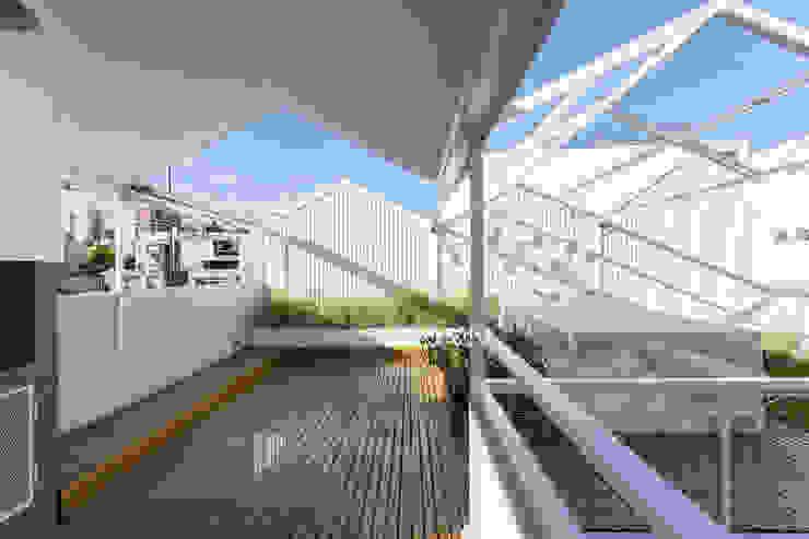Balcon, Veranda & Terrasse modernes par Marantz Arquitectura Moderne