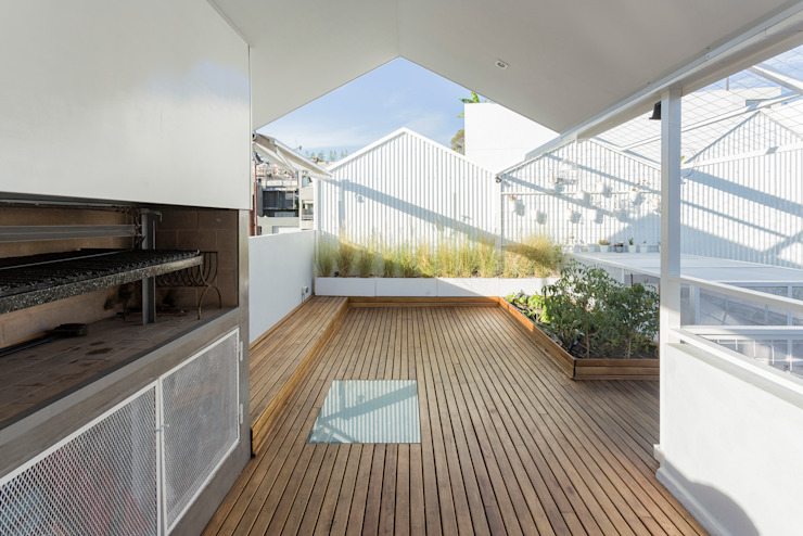 Балкон и терраса в стиле модерн от Marantz Arquitectura Модерн