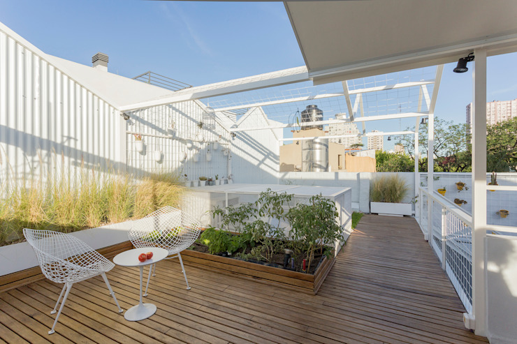 Marantz Arquitectura Modern Terrace