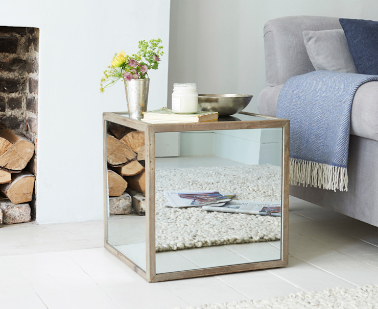 Boomtown side table de Loaf Moderno Vidrio