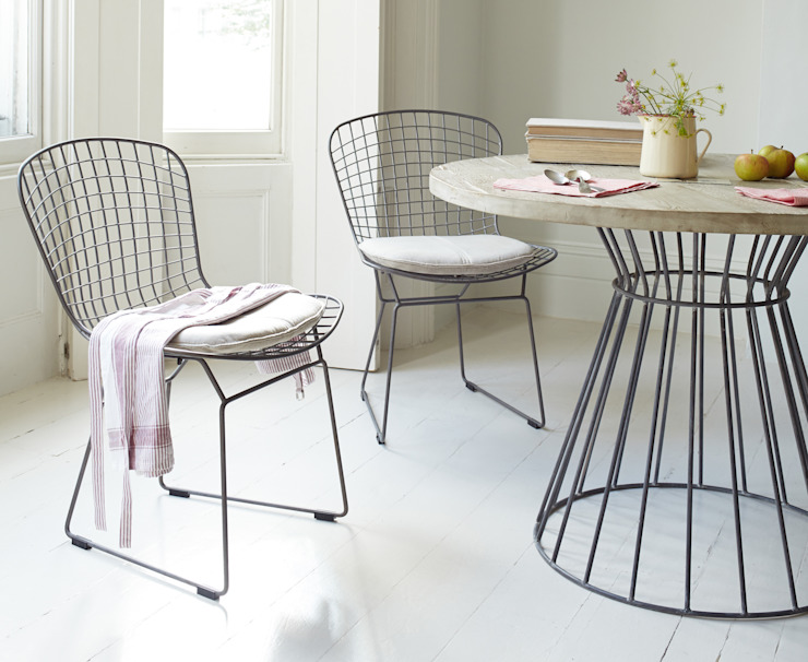Hamburger chairs Loaf Dining roomChairs & benches Metal Grey