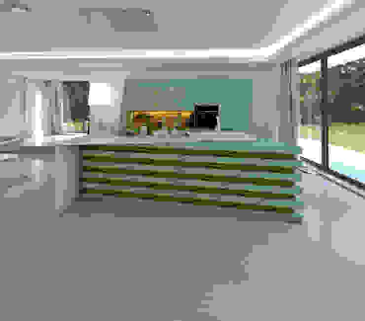 J.Dias КухняШафи і полиці MDF Зелений