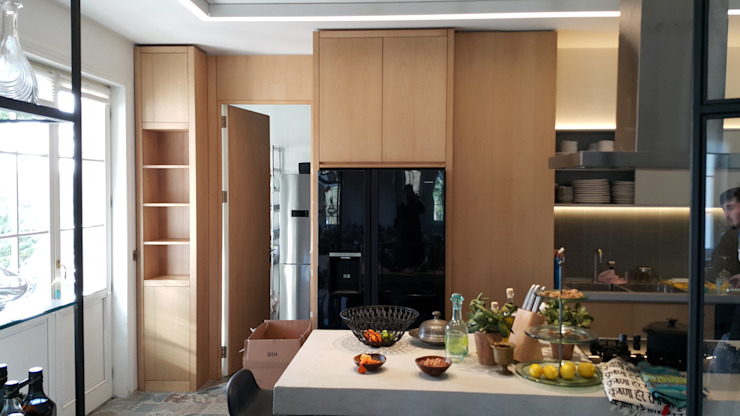 kitchen1 N'CESUR FURNİTURE Endüstriyel Ahşap Ahşap rengi
