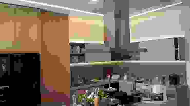 kitchen2 N'CESUR FURNİTURE Endüstriyel Ahşap Ahşap rengi