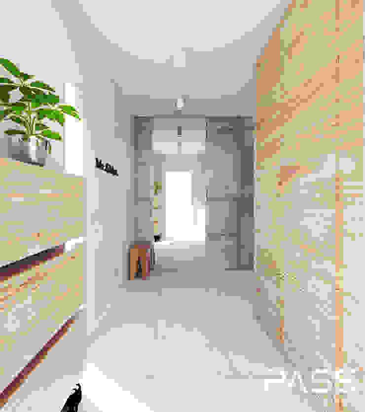 ห้องโถงทางเดินและบันไดสมัยใหม่ โดย PASS architekci โมเดิร์น