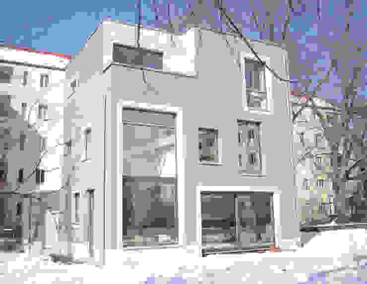 Einfamilienhaus in Alt-Treptow Moderne Häuser von Anne Raupach Architektur Modern