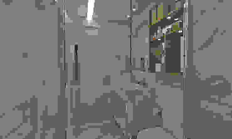 Banho Master Casas de banho ecléticas por Atelier Par Deux Eclético Mármore