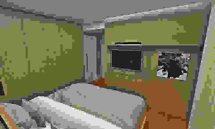 Dormitorios de estilo ecléctico de Atelier Par Deux Ecléctico Tablero DM