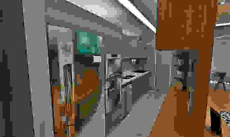 Cozinha Cozinhas ecléticas por Atelier Par Deux Eclético MDF
