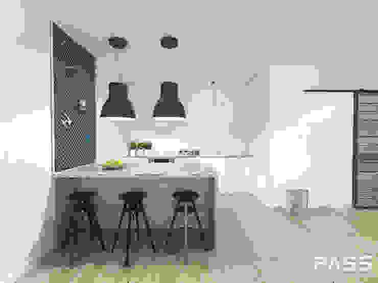 Industrial style kitchen by PASS architekci Industrial