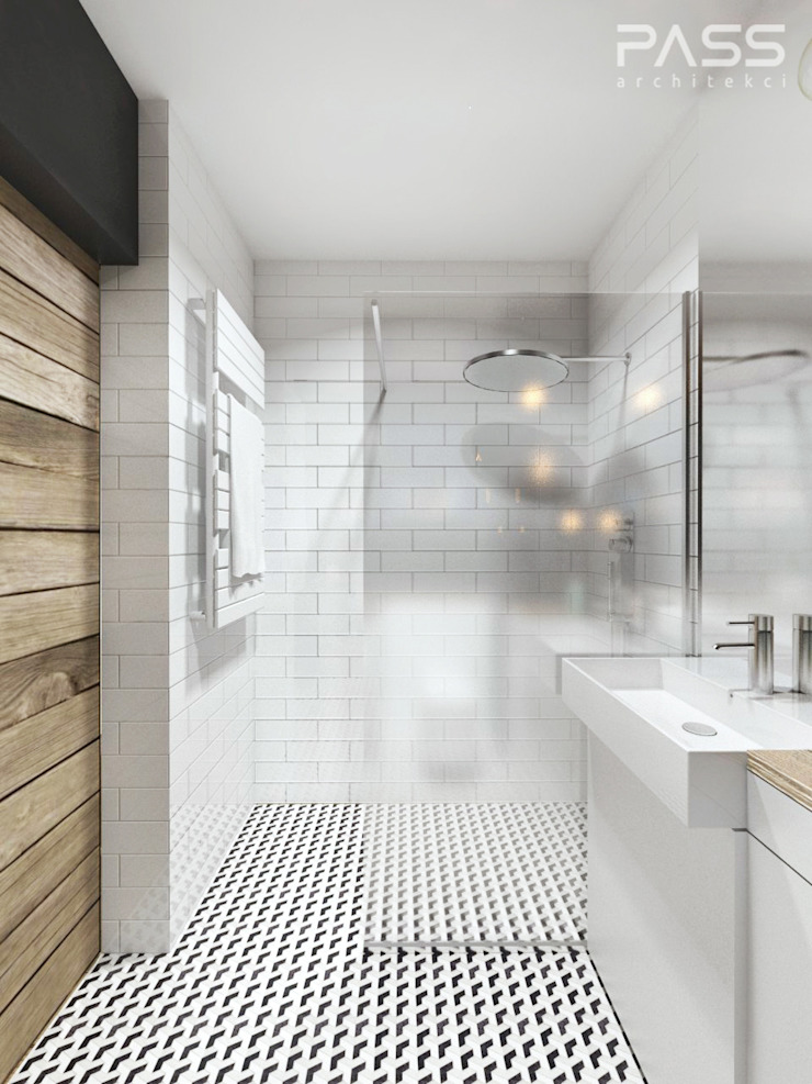 Industrial style bathrooms by PASS architekci Industrial