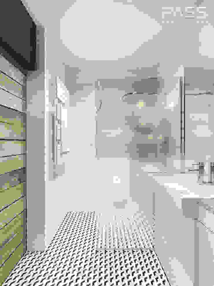 Industrial style bathroom by PASS architekci Industrial