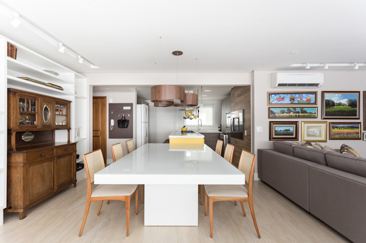 Modern Dining Room by Stefani Arquitetura Modern