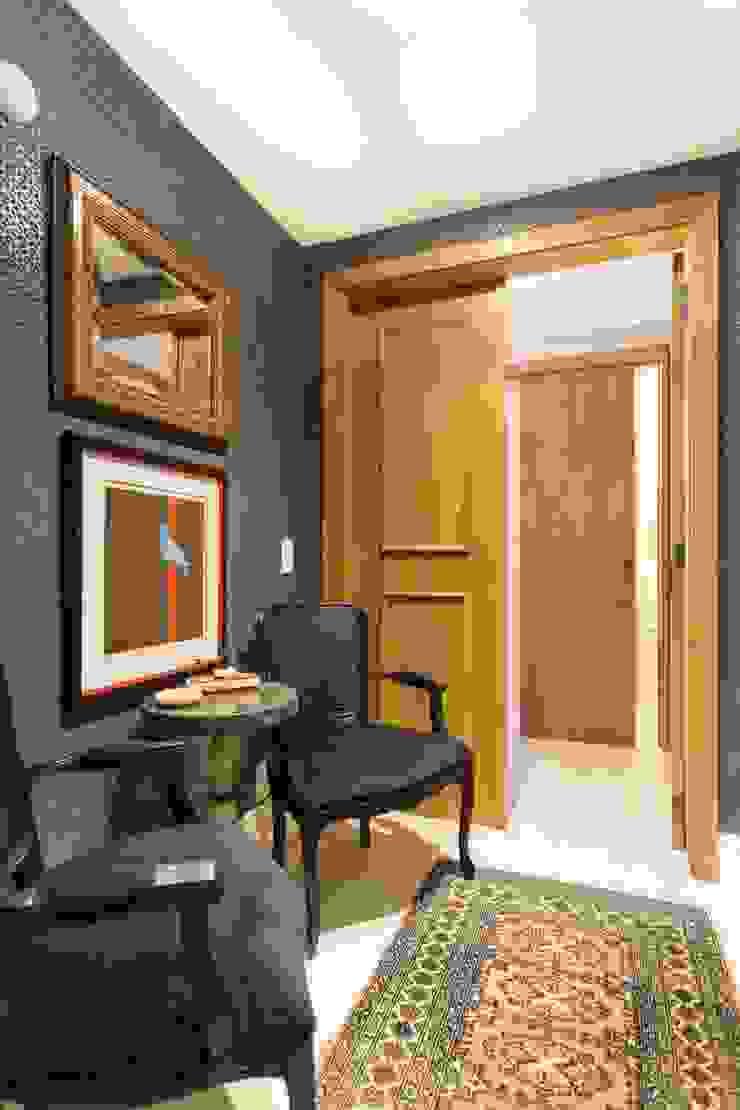 Modern Corridor, Hallway and Staircase by Stefani Arquitetura Modern