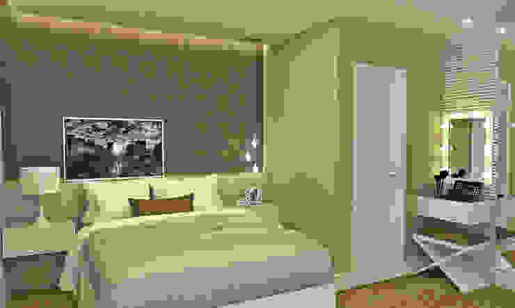 Dormitorios de estilo minimalista de Atelier Par Deux Minimalista