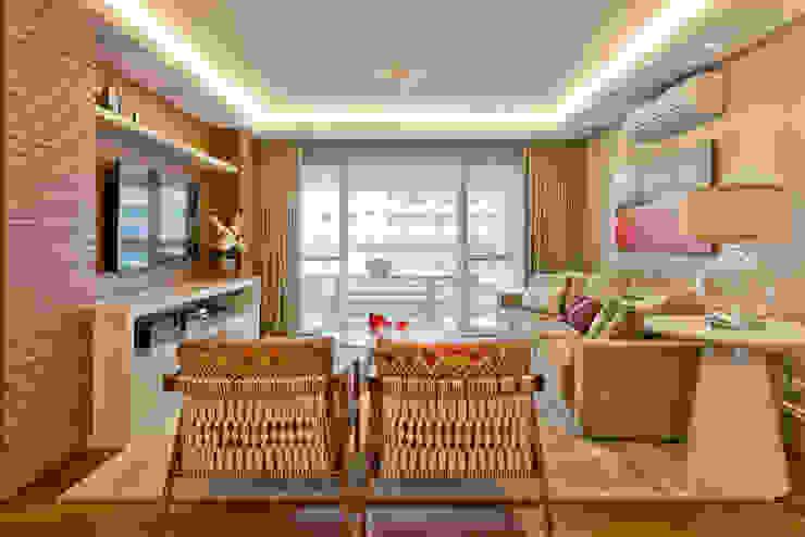 Residência Água Verde L&O Salas de estar modernas por VL Arquitetura e Interiores Moderno