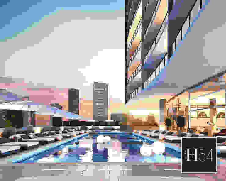 Canvas, Miami. Hoteles de estilo moderno de Home54 Moderno