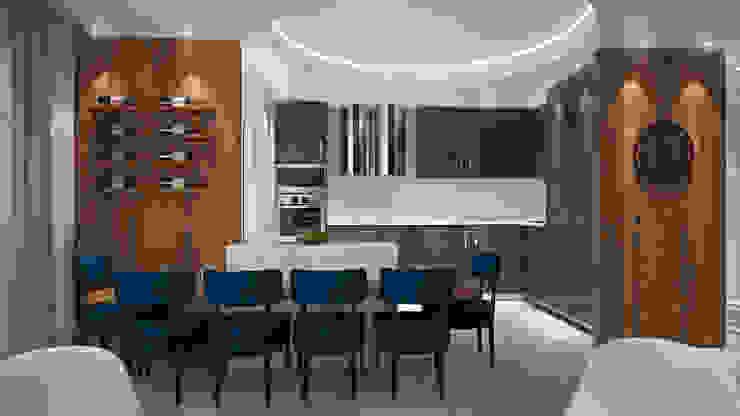 Cozinha: Cozinhas  por Tiago Martins - 3D,