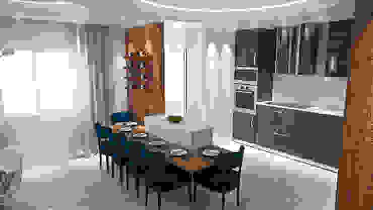 Cozinha Cozinhas modernas por Tiago Martins - 3D Moderno