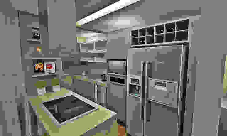 Atelier Par Deux Kitchen MDF Grey