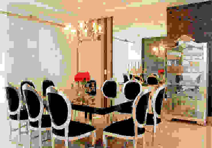 Sala de Jantar Salas de jantar clássicas por Penha Alba Arquitetura e Interiores Clássico