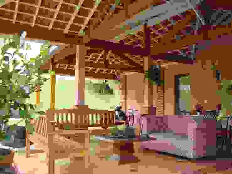 Casas de estilo rural de Bia Maia & Guta Carvalho Arquitetura, Design e Paisagismo Rural