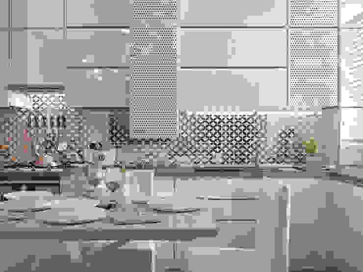 Cocinas de estilo minimalista de Yurov Interiors Minimalista Madera Acabado en madera