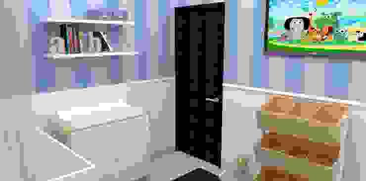 Render 3D Baby Room Cuartos infantiles de estilo clásico de TRIBU ESTUDIO CREATIVO Clásico