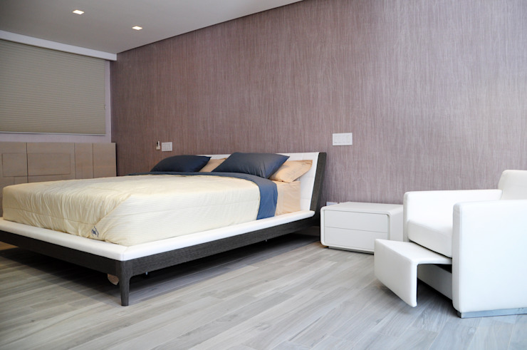 Modern style bedroom by TRIBU ESTUDIO CREATIVO Modern