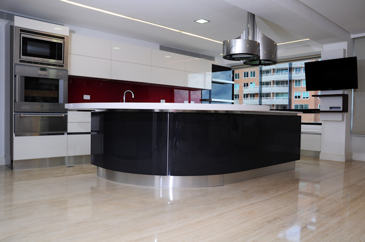 Modern style kitchen by TRIBU ESTUDIO CREATIVO Modern