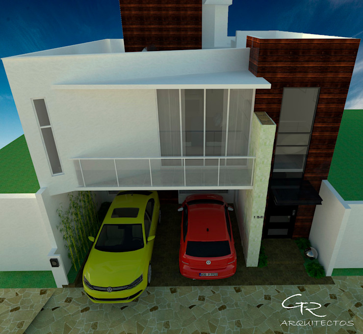 House Tempo Casas modernas de GT-R Arquitectos Moderno
