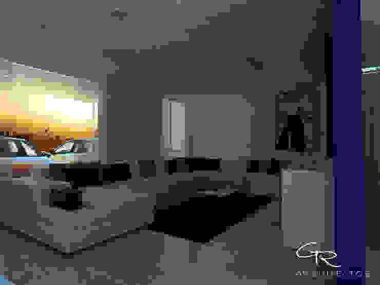 House Tempo Salones modernos de GT-R Arquitectos Moderno