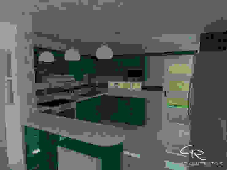 House Tempo Cocinas modernas de GT-R Arquitectos Moderno