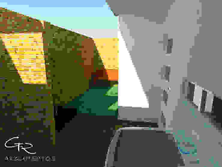 House Tempo Jardines modernos de GT-R Arquitectos Moderno