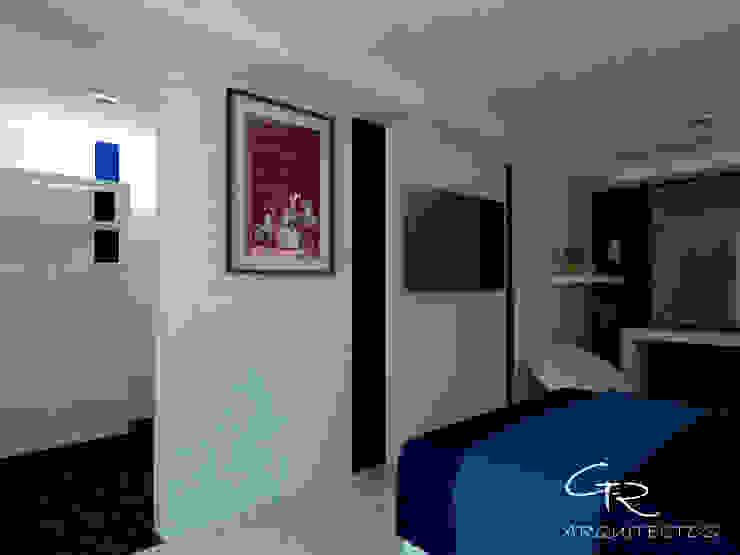 House Tempo Dormitorios modernos de GT-R Arquitectos Moderno