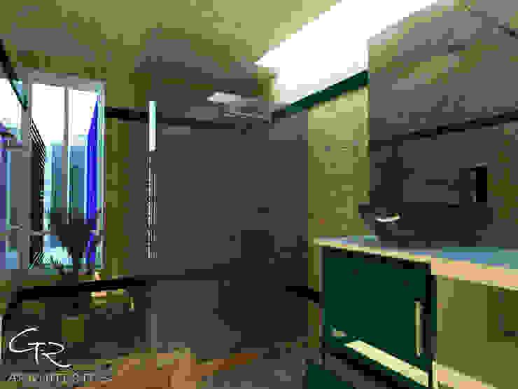 House Tempo Baños modernos de GT-R Arquitectos Moderno