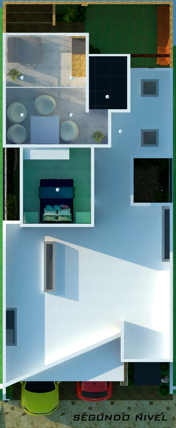 House Tempo de GT-R Arquitectos Moderno