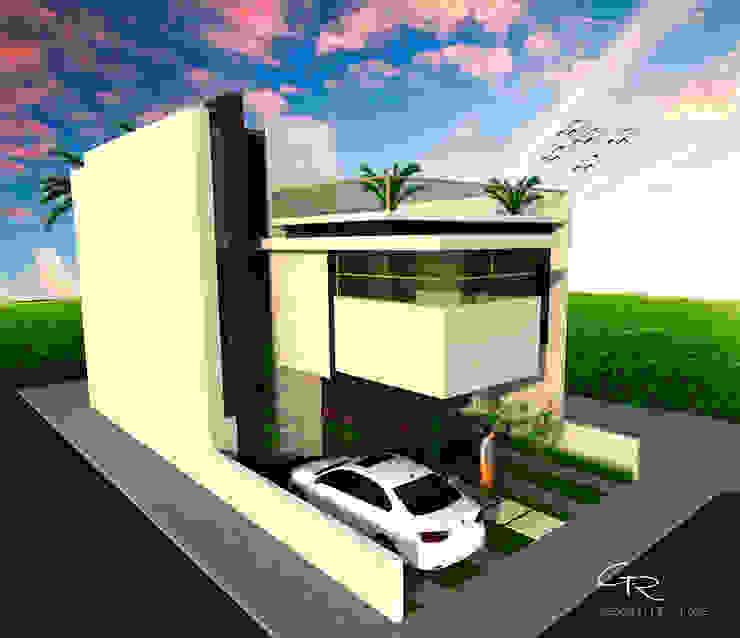 House BR Casas modernas: Ideas, diseños y decoración de GT-R Arquitectos Moderno