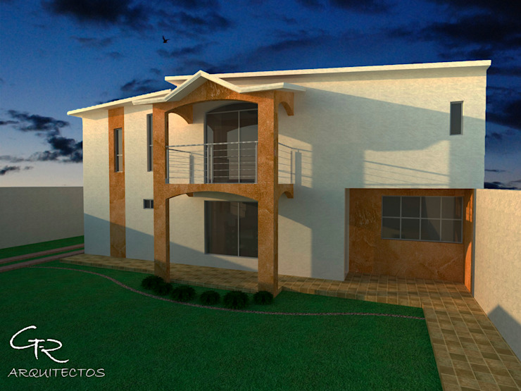 R-1 Casas modernas de GT-R Arquitectos Moderno