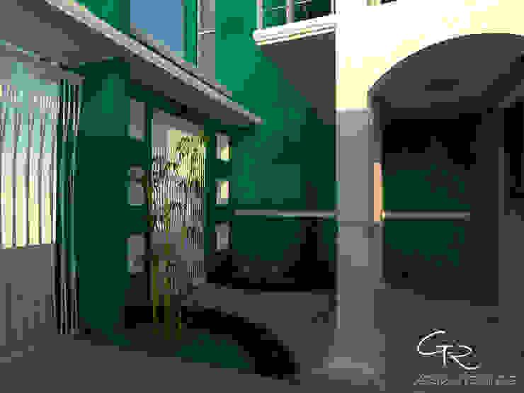 R-1 Jardines modernos de GT-R Arquitectos Moderno