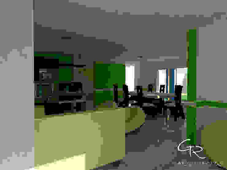 R-1 Salones modernos de GT-R Arquitectos Moderno