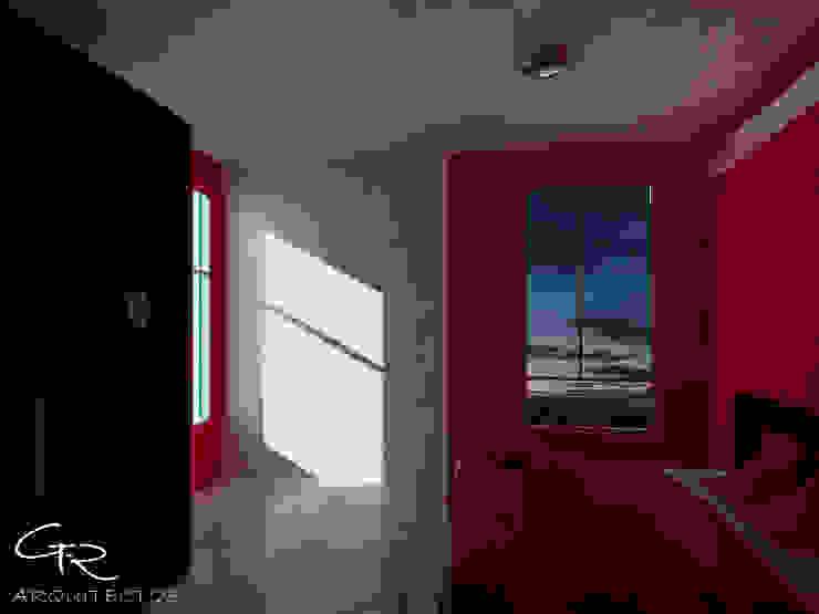 R-1 Dormitorios modernos de GT-R Arquitectos Moderno