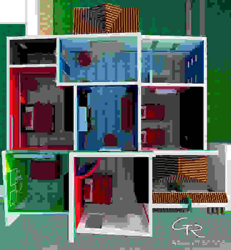 R-1 de GT-R Arquitectos Moderno