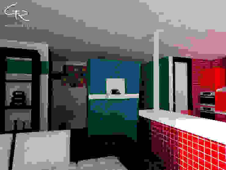 Loft Montecillo 05 Paredes y pisos de estilo minimalista de GT-R Arquitectos Minimalista
