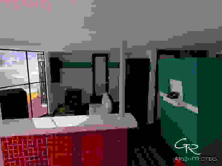 Loft Montecillo 05 Salones minimalistas de GT-R Arquitectos Minimalista