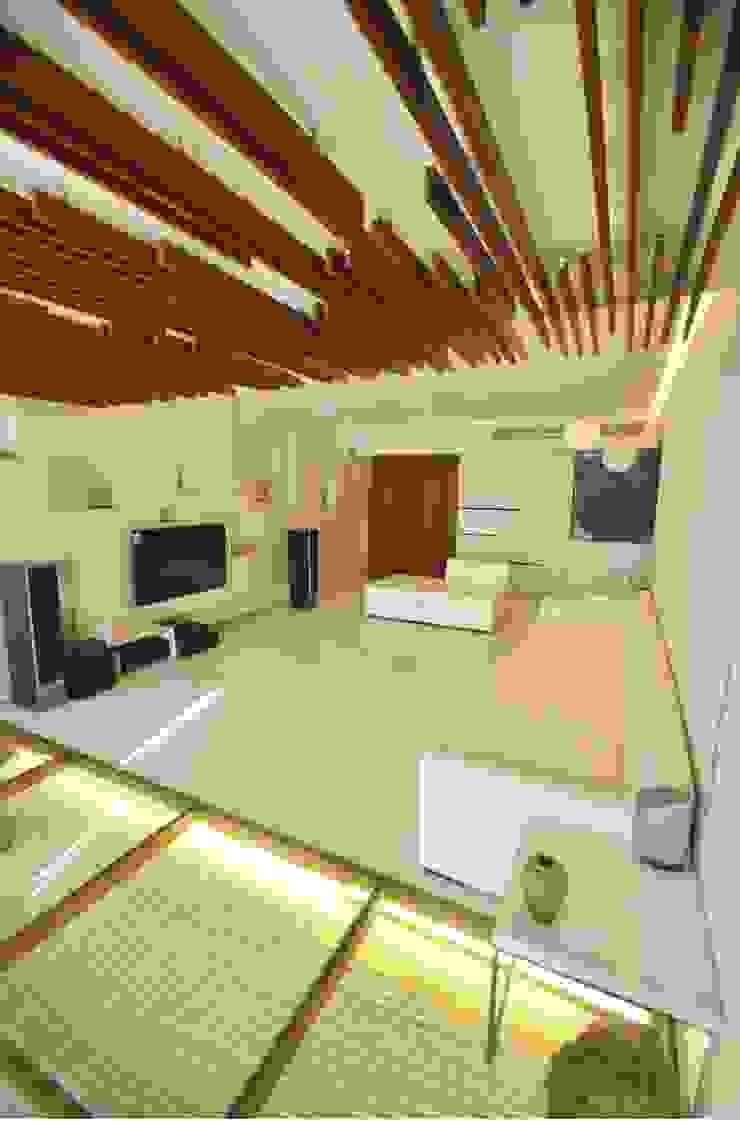 Living room Minimalist living room by The White Room Minimalist